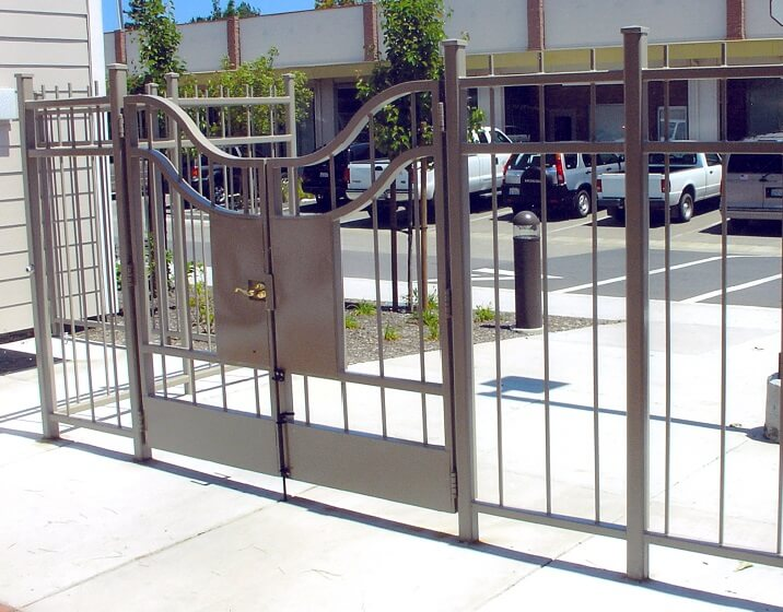 product from ahlborn fence and steel